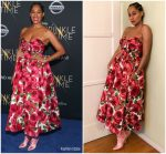 "Tracee Ellis Ross In  Michael Kors Collection   @ "" A Wrinkle In Time "" LA Premiere"