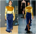 Tracee Ellis Ross In Prabal Gurung  @  2018 American Black Film Festival Honors Awards