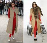 Zendaya Coleman In  Michael Kors Collection @  Michael Kors Fall 2018 NYFW Frontrow