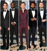 2018 Vanity Fair Oscar Party Menswear Redcarpet