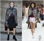 Chloé Moretz  In Louis Vuitton  @ Louis Vuitton Fall 2018  Show