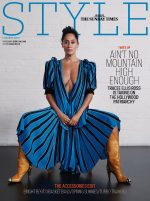 Tracee Ellis Ross In  Givenchy @  Cover  Of Sunday Times Style