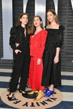 HAIM  In Stella McCartney  @ 2018 Vanity Fair Oscar Party