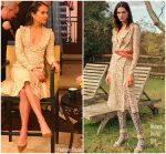 Alicia Vikander In Altuzarra  @ Live with Kelly & Ryan