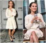 Alicia Vikander in Sea  New York @   BUILD Series in New York