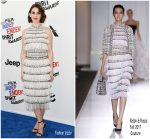 Alison Brie  In Ralph and Russo Couture  @ 2018 Film Independent Spirit Awards
