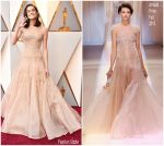 Allison Williams in Armani Privé @ Oscars 2018
