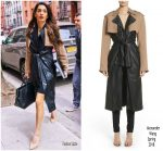 Amal Clooney in Alexander Wang  Out In New york