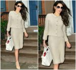 Amal Clooney  In  Vintage Chanel  Out In  New York City
