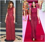 Ana de Armas  In Dolce and Gabbana  @ 2018 Vanity Fair Oscar Party