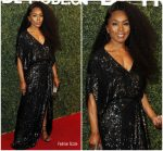 Angela Bassett  In Diane Von Furstenberg  @ Maison-de-mode Celebrates Sustainable Style, Honors Suzy Amis Cameron