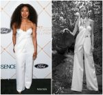 Angela Bassett  In Yaniv Persy  @ 2018 Essence Black Women In Hollywood Oscars Luncheon