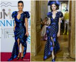 Angela Rye In Ronald van der Kemp Couture  @ 'The Humanity Of Connection' New York Screening