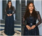 Ava DuVernay  In Armani Prive @ 2018 Vanity Fair Oscar Party
