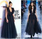 Bella Hadid In Christian Dior  @ 'Dior, The Art of Color' Exhibition