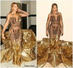 Beyonce Knowles In Falguni Shane Peacock @  WACO Theater's 2nd Annual Wearable Art Gala