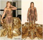 Beyonce Knowles In Falguni Shane Peacock @  WACO Theater's 2nd Annual Wearable Art Gala