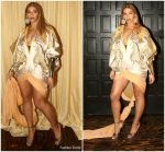 Beyonce Knowles In  JEAN-LOUIS SABAJI   @ Wearable Art Gala 2018