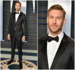 Calvin Harris  In Ermenegildo Zegna Couture  @ 2018 Vanity Fair Oscar Party