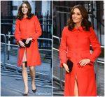 "Catherine Duchess of Cambridge In "" Boden "" @  Great Ormond Street Hospital Visit"