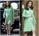 Catherine, Duchess of Cambridge In Jenny Packham @  Early Intervention For Children And Families Symposium