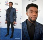 Chadwick Boseman In Burberry  @ 2018 Film Independent Spirit Awards