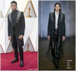 Chadwick Boseman  In  Givenchy Couture   @  2018 Oscars