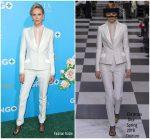 Charlize Theron In Christian Dior Haute Couture  @ 'Gringo' LA Premiere