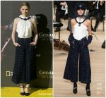 Clemence Poesy In Chanel  @ 'Genius Picasso' Malaga Premiere