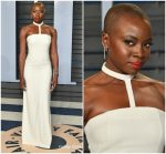 Danai Gurira  In Gabriela Hearst @  2018 Vanity Fair Oscar Party