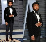 Donald Glover In Gucci  @ 2018 Vanity Fair Oscar Party