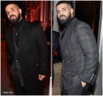 Drake  In Tom Ford  @  2018 Vanity Fair Oscar Party