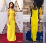 Eiza Gonzalez In Ralph Lauren Collection  @ 2018 Oscars