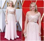 Elisabeth Moss In Christian Dior Couture  @ 2018 Oscars