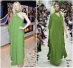 Elle Fanning In Valentino  @ The Hollywood Reporter And Jimmy Choo Power Stylists Dinner