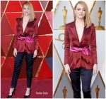 Emma Stone In Louis Vuitton  @ 2018 Oscars
