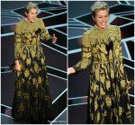 Frances McDormand  In Valentino @ 2018 Oscars