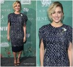 Greta Gerwig in Oscar de la Renta @  11th annual  Women In Film Pre-Oscar Cocktail Party