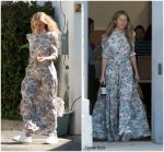 Gwyneth Paltrow  In CO Maxi Dress   Out In  Los Angeles