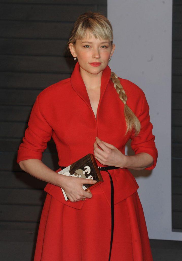 Haley Bennett In Christian Dior 2018 Vanity Fair Oscar Party Fashionsizzle