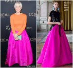 Helen Mirren In Escada & Sachin & Babi  @  L'Oreal Paris Canadian Women of Worth Awards Gala