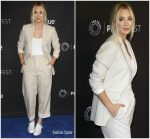 Kaley Cuoco In Sandro  @  PaleyFest Los Angeles: 'The Big Bang Theory'