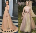 Kate Bosworth  In Christian Dior  @ 2018 Vanity Fair Oscar Party