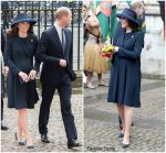 Kate Middleton  In Beulah  London  @ Commonwealth Day Service at Westminster Abbey