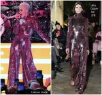 Katy Perry Performed  In Juicy Couture   @ Byron Allen Oscar Party 2018