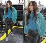 Kim Kardashian West  In Yeezy Season 7 Out In LA