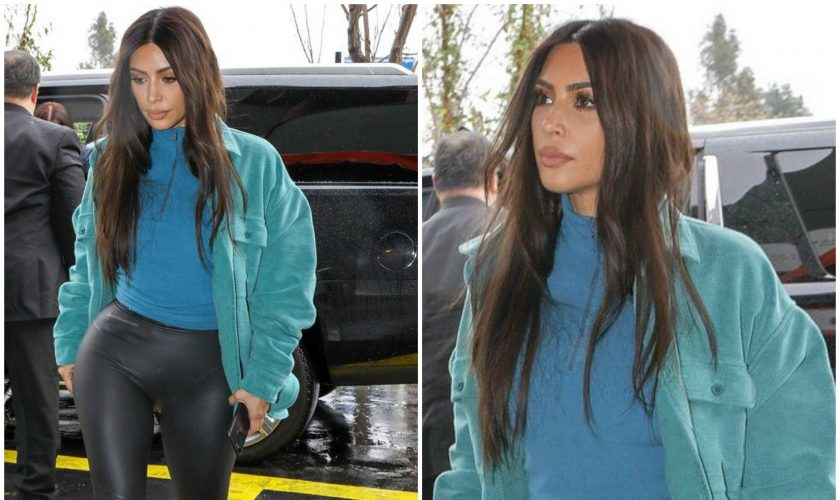 kim-kardashian -yeezy-season-7-out-in-la