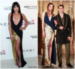 Lea Michele  In La Perla  @  Elton John's AIDS Foundation Academy Awards Viewing Party