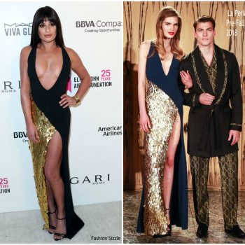 lea-michele-in-la-perla-elton-johns-aids-foundation-academy-awards-viewing-party