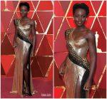 Lupita Nyong'o  In Atelier Versace @ 2018 Oscars